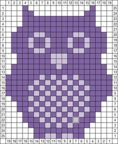 patterns crochet chart perler