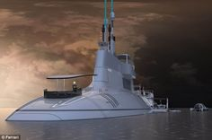 The hull of  the 11 meter wide Migaloo is identical to current submarines