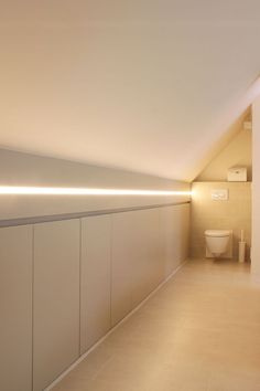 Turn Your Attic into the Bathroom of Your Dreams Today - Attic Basement Ideas Attic Bedroom Storage, Attic Bedroom Designs, Attic Bedrooms, Attic Design, Bedroom Loft, Home Bedroom, Eaves Storage, Roof Storage, Loft Bathroom