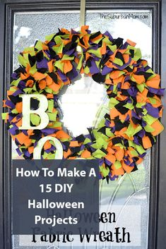 Halloween projects, diy, and crafts from decoration to last minute holiday fun Halloween Projects, Diy Halloween Decorations, Halloween Themes, Fall Halloween, Happy Halloween, Seasonal Decor, Fall Decor, Holiday Fun, Holiday Desserts