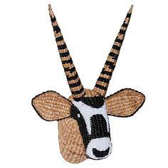 www.target.com p oryx-head-wall-d-cor-threshold - A-51345806