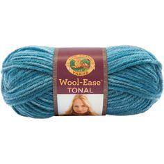 Lion Brand® Wool-Ease® Tonal Yarn Caribbean Blue