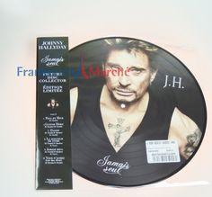 Frankreich Marché Online Shop-Schon mal mit einem Franzosen geduscht?-Johnny Hallyday,Picture LP,Jamais seul