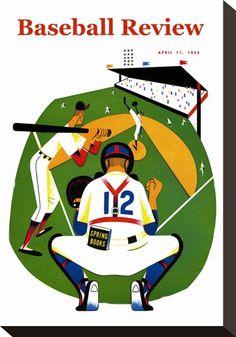 Baseball Review Premium Poster