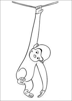 Curious George Coloring Pages Printable - Free Coloring Sheets Swear Word Coloring Book, Quote Coloring Pages, Coloring Pages Inspirational, Coloring Pages For Boys, Cartoon Coloring Pages, Animal Coloring Pages, Colouring Pages, Printable Coloring Pages, Coloring Books