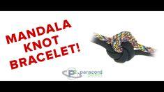How To Make A Mandala Knot Paracord Bracelet