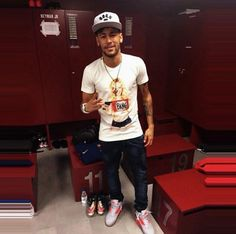 Neymar after the game   11.02.15