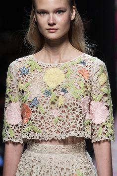 Blumarine at Milan Fashion Week Spring 2020 - Details Runway Photos