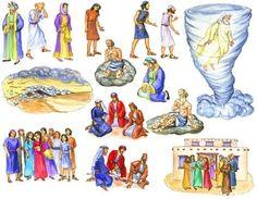 Resultado de imagem para Bible Felt Figures Flannel Board Stories