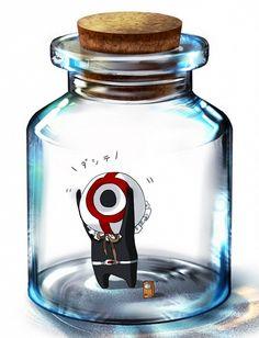 Mirai Nikki, Hirasaka Yomotsu, Tiny Person, Bottle, In a Bottle
