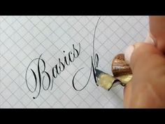 Inspiring Copperplate Left handed Copperplate Calligraphy Compilation x Logos Calligraphy - YouTube