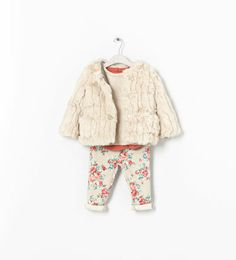 ZARA - KIDS - FUR JACKET