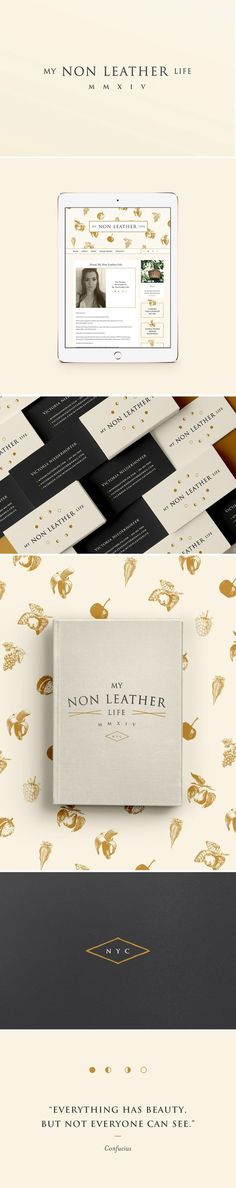 My Non Leather Life Branding by Branch