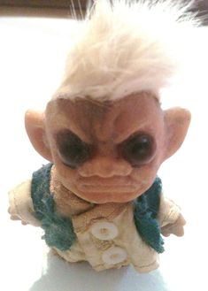 Nasty Ugly Troll Doll | 11 (Unintentionally) Scary Vintage Dolls That Will Make Your Skin Crawl