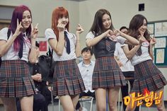 BLACKPINK on jtbc's Knowing Brothers