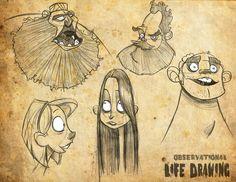 http://danseddonportfolio.blogspot.com.es/p/life-drawing.html