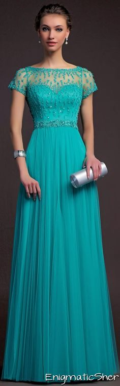 Aire Barcelona Cocktail 2015 jaglady Azul turquesa.Prom Dress Prom Dresses 2015.