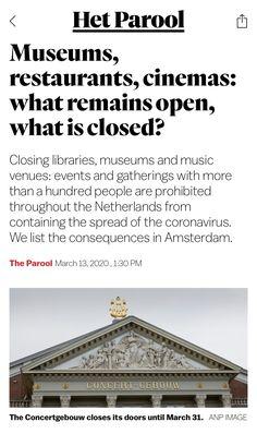 Amsterdam, March, News, Mac