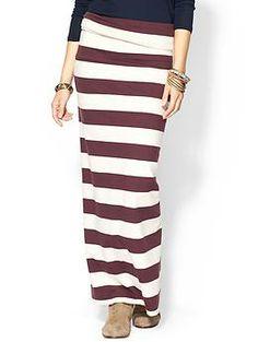 Free People Stripe Column Skirt | Piperlime