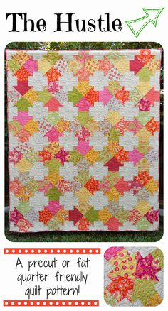 ~ Zany Quilter ~: The Hustle Quilt Pattern is Available!