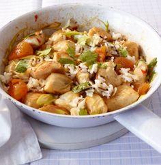 Donnerstag: Hähnchen-Reis-Pfanne - Gesunde Rezepte vom 16.06. bis 22.06.2014 - 4 - [ESSEN  TRINKEN]