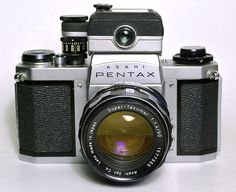 Pentax_SV_camera with super takumar lens