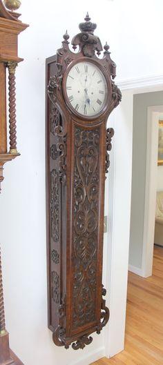 Clocks for Sale - Wall Clocks Antique Wall Clocks, Old Clocks, Chelsea Clock, Grandmother Clock, Decoy Carving, Clocks For Sale, Antique Watches, White Tiles, Vintage Home Decor