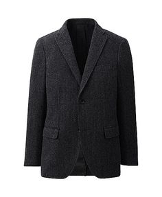 Tweed jacket. In preparation for when I'm a college professor that has a pipe and an extra scruffy beard.