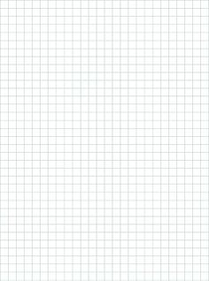 Graph Paper Template  Inch Letter Pdf  Printables