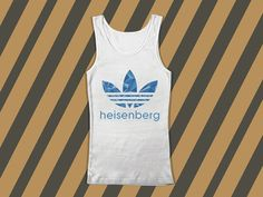 HeisenbergScreenprint mens and women tank top by everybodystore, $19.00
