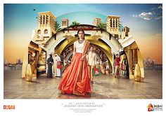 Dubai Shopping Festival // Journey into Inspiration on Behance by Elisa Arienti