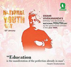 Swami Vivekananda, Important Dates, Evergreen, Youth, Education, Poster, Onderwijs, Learning, Billboard