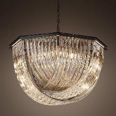 [ $479 OFF ] Modern Vintage Cristal Chandelier Indoor Lighting Crystal Hanging Light For Home Hotel Restaurant Living And Dining Room Decor