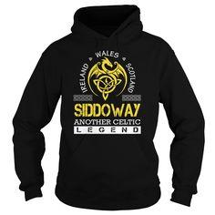 SIDDOWAY Legend - SIDDOWAY Last Name, Surname T-Shirt