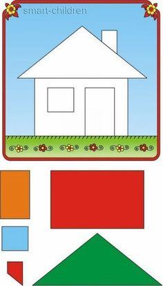 Recortar y pegar is part of Preschool worksheets - Láminas para recortar y pegar Preschool Learning Activities, Preschool Curriculum, Kindergarten Worksheets, Infant Activities, Preschool Activities, Teaching Kids, Kids Learning, Activities For Kids, Shape Worksheets For Preschool