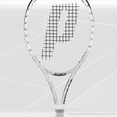 Prince EXO3 WHITE LITE  - - my new tennis racket (bought it on sale at a local shop - woo hoo)