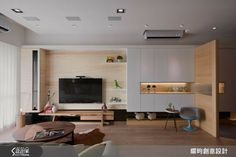 Feature Wall Living Room, Condo Living Room, Living Room Goals, Small Living Rooms, Home And Living, Tv Feature Wall, Small Bedroom Interior, Interior Design Living Room, Living Room Designs