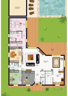 bungalow de luxe plans maisonfaire construire - Faire Construire Ou Acheter Une Maison