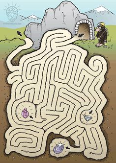 FREE maze to print out. Dyslexia Activities, Preschool Learning Activities, Kids Learning, Maze Worksheet, Pattern Worksheet, Maze Puzzles, Puzzles For Kids, Hard Mazes, Spot The Difference Kids