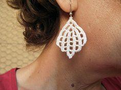 PDF Tutorial Crochet Pattern...Dangle Earrings -26