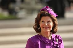 Queen Silvia, October 20, 2012 in Karin Linder | Royal Hats