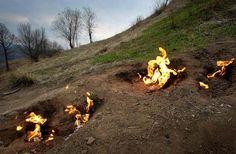 5 Cele mai ciudate obiective turistice din Romania: Focurile Vii