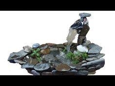 Su Pompasıyla Dekoratif Havuz Yapımı - YouTube