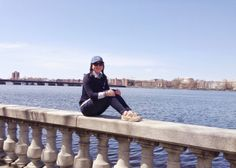 Hanging by the Charles | #boston #nautical #ootd #fashion #style #preppy #preppystyle #jcrew #sperrys #topsiding #blogger