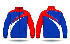 Vector illustration of sport jacket. Badminton Logo, Sport Outfits, Cute Outfits, Gym Outfit Men, Fashion Design Template, Sports Jacket, Apparel Design, Motorcycle Jacket, Soccer