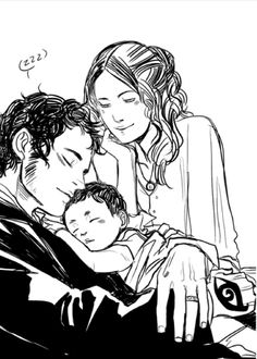 Tessa, Will, and Baby James ❤
