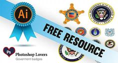 Free Government Seals, Photoshop lovers provides graphic designers with a cool vectors get free government seals for your design project. Best Stocks, Seals, Design Projects, Badge, Photoshop, Lovers, Graphic Design, Free, Seal
