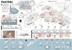 Volzero : Competitions Concept Board Architecture, Architecture Model Making, Architecture Presentation Board, Architecture Collage, Architecture Graphics, Facade Architecture, Architecture Diagrams, Architecture Portfolio, Interior Design Presentation