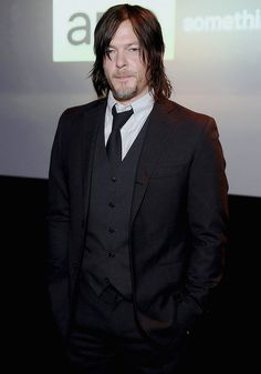 Norman Reedus attends the AMC Ad Sales Event celebrating AMC's 'The Walking Dead'.