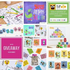#ciaosummer #giveaway  To celebrate the launch of the wonderful @hello_lilollo products in our online shop this week we are going to send one lucky winner a HUGE HAMPER of language resources to enjoy with their family this summer. We are giving away both of our multilingual music CDs and a Chez Toi Bag with puppet scarf instruments and bubbles and LilOllo have given us a range of their beautifully designed flashcards and posters in some of our favourite #languages for you to enjoy with your…